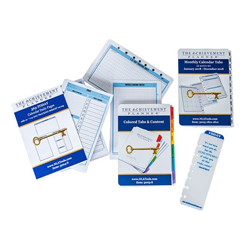 the achievement planner annual refill david byrd consulting